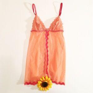 Coral Victoria's Secret lingerie top, XS NWT
